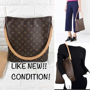 🚨RETIRED🚨ZIPPER TOTE LOUIS VUITTON BAG